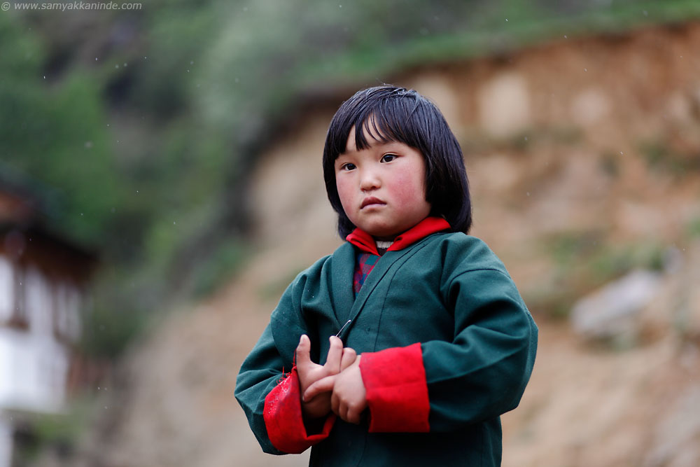 Child at Trongsa
