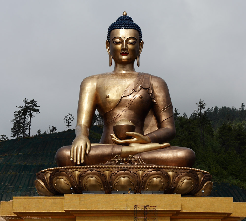 Buddha Dordenma Statue at Buddha point